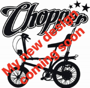 Chopper Black & White T-Shirt